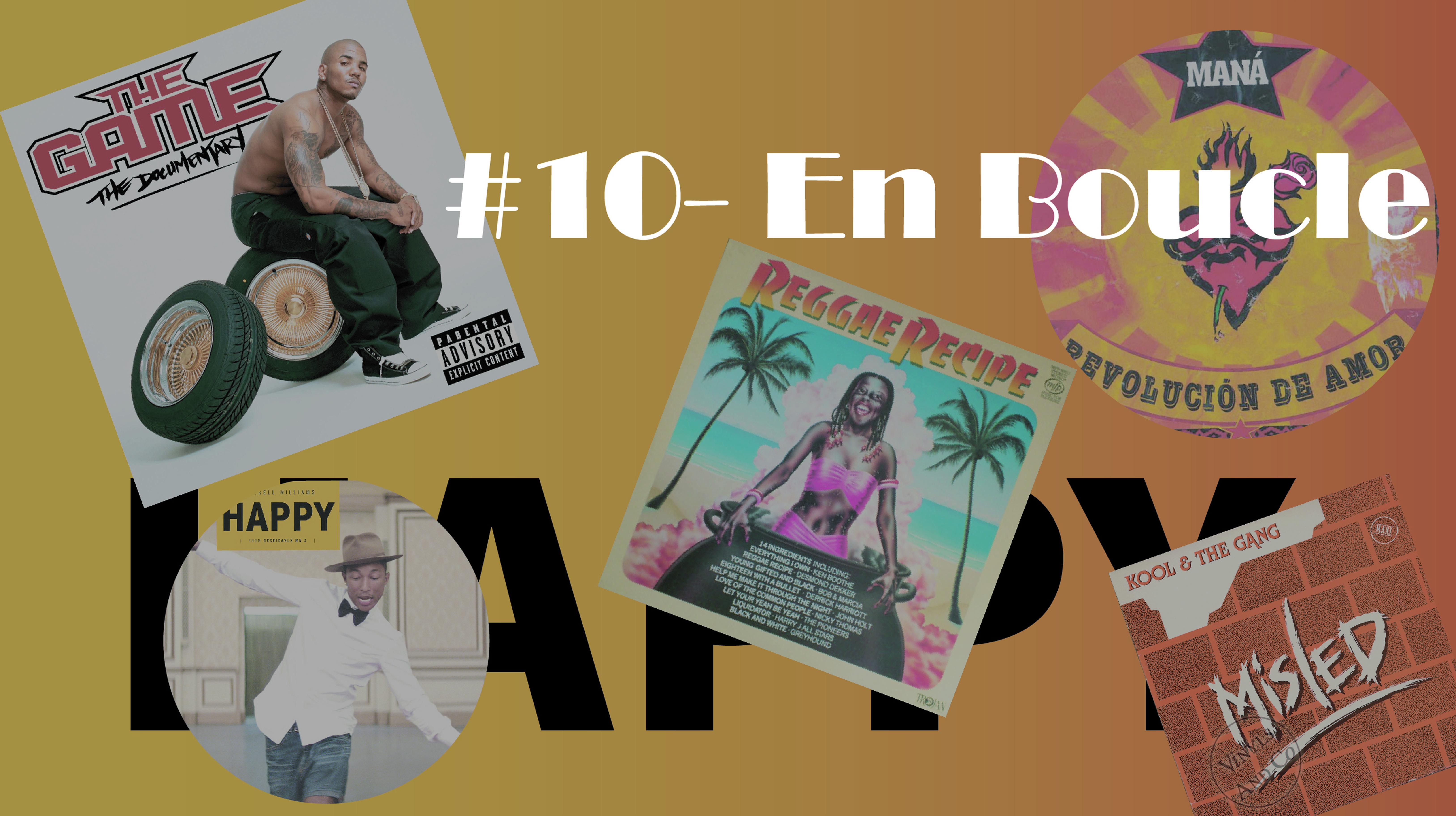 Playlist #10 – En Boucle (avec anecdotes)